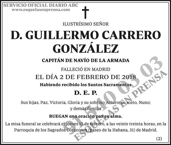 Guillermo Carrero González